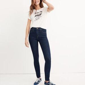 "NWOT MADEWELL 10"" High Rise Skinny Jeans"